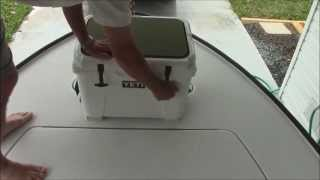 Yeti Cooler Review & Installation As A Casting Deck On A Flats Boat