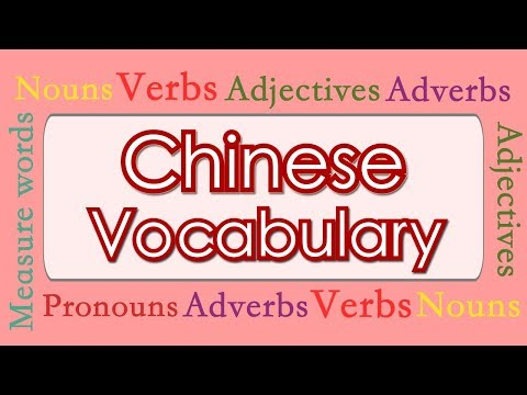 Learn Chinese: Basic Mandarin Chinese Vocabulary in 2.5 Hours Based on HSK 1 & HSK 2 & More