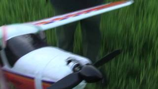 How not to fly an RC plane...
