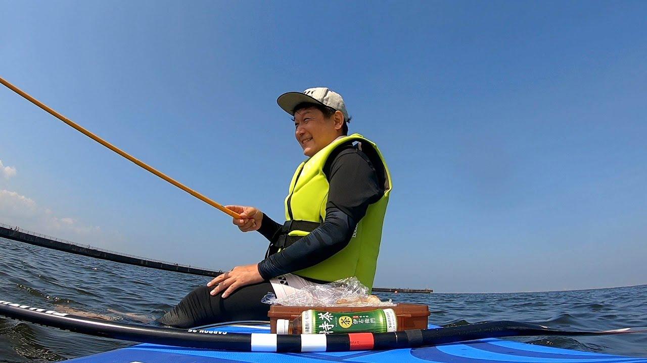 【はじめてSUPに挑戦】サップに乗ってもハゼを釣りたい!稲毛海岸編