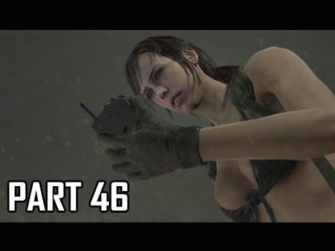 Metal Gear Solid 5 The Phantom Pain Walkthrough Part 46 - Secure Quiet Ending (MGS5 Let's Play)