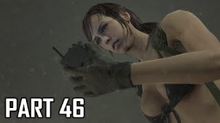 Metal Gear Solid 5 The Phantom Pain Walkthrough Part 46 - Secure Quiet Ending (MGS5 Let