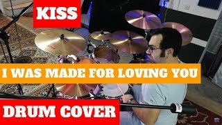 Kiss - I Was Made For Loving You Drum Cover by Daniel Charavitsidis