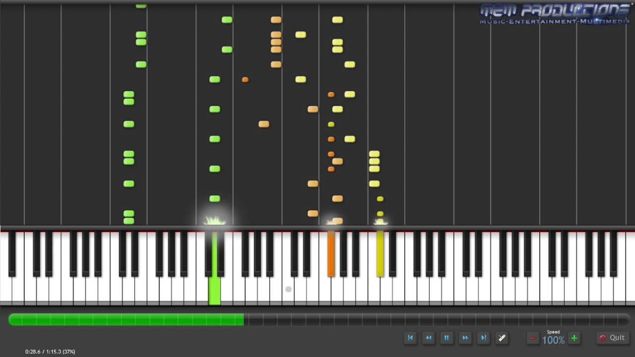 Piano Tutorial: Tetris Theme (Type B) + MIDI Download