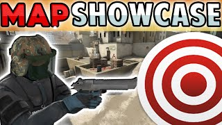 FAST AIM / REFLEX TRAINING MAP - CS:GO - Map Showcase !