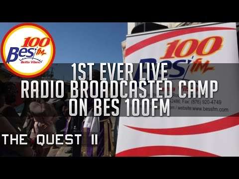 IUIC: The Quest II - 1st Ever Live Radio Broadcasted Camp On Bes 100.9FM!!!