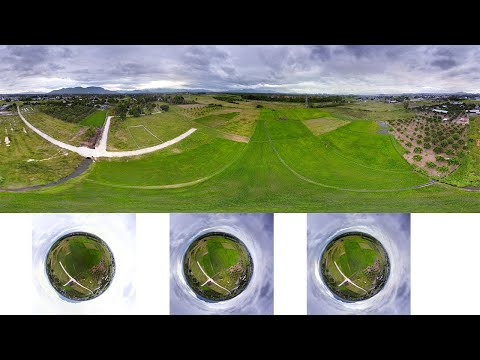Ghép ảnh Panorama và ảnh tiểu hành tinh bằng Hugin - Hugin: Creating 360 Panorama and Little Planet