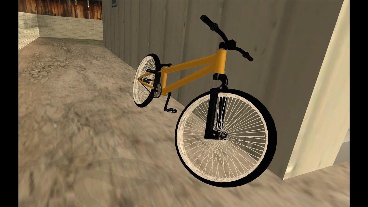 Trial Mtb Gta San Andreas Bike Mod Hd Youtube
