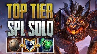 The SPL Beast! Camazotz Solo Gameplay (SMITE Conquest)