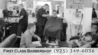 First Class Barber Shop in Concord, California