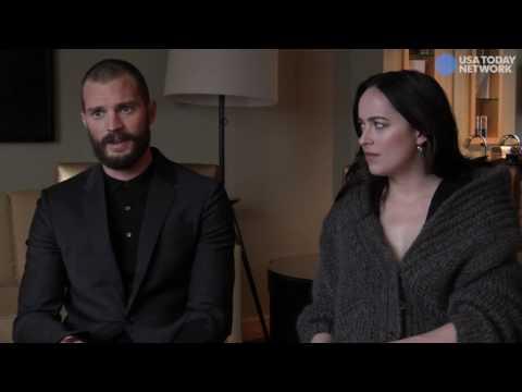 Jamie Dornan, Dakota Johnson - Entrevista para USA Today