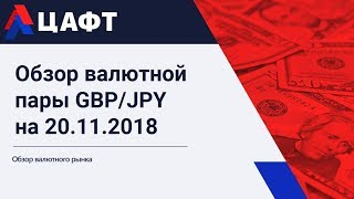 Обзор валютной пары GBP/JPY на 20.11.2018
