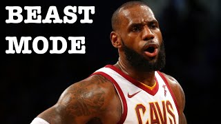 lebron james mix beast mode 2017
