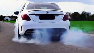 Mercedes C63 AMG Sound & Acceleration Onboard 0-250 Autobahn W205 Alpha Cars