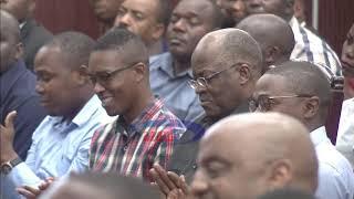 Prof. Kitilya Mkumbo anukuu maneno ya JPM akiutaja uelekeo wa Serikali ya Awamu ya 5