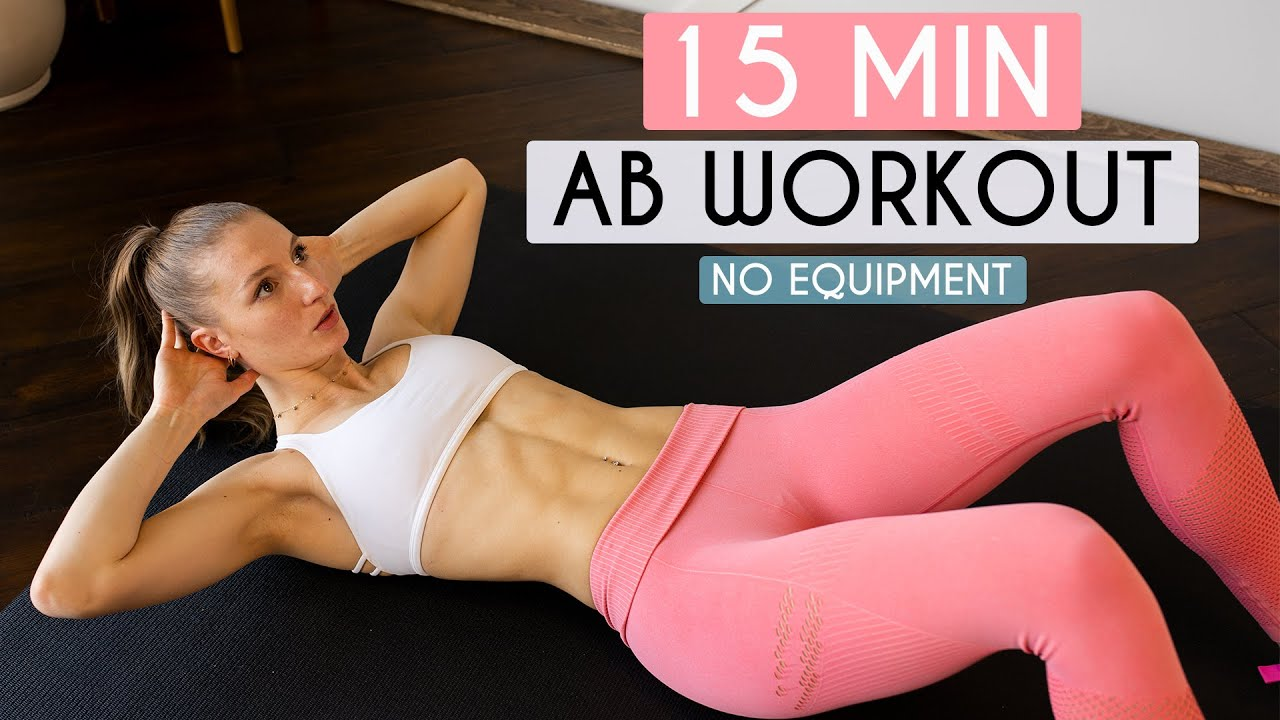 Download 15 MIN AB WORKOUT - No Equipment (Sixpack Abs)