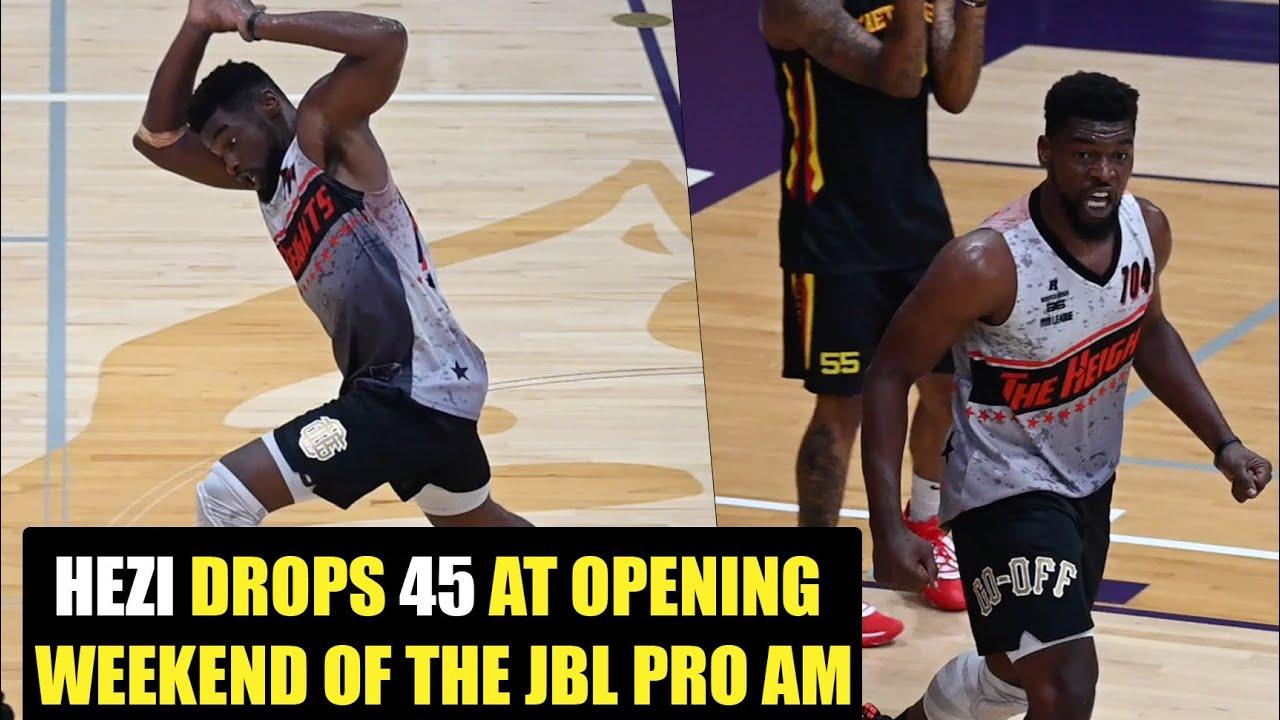 Hezi god Drops 45Pts Open Weekend of JBL Pro-am