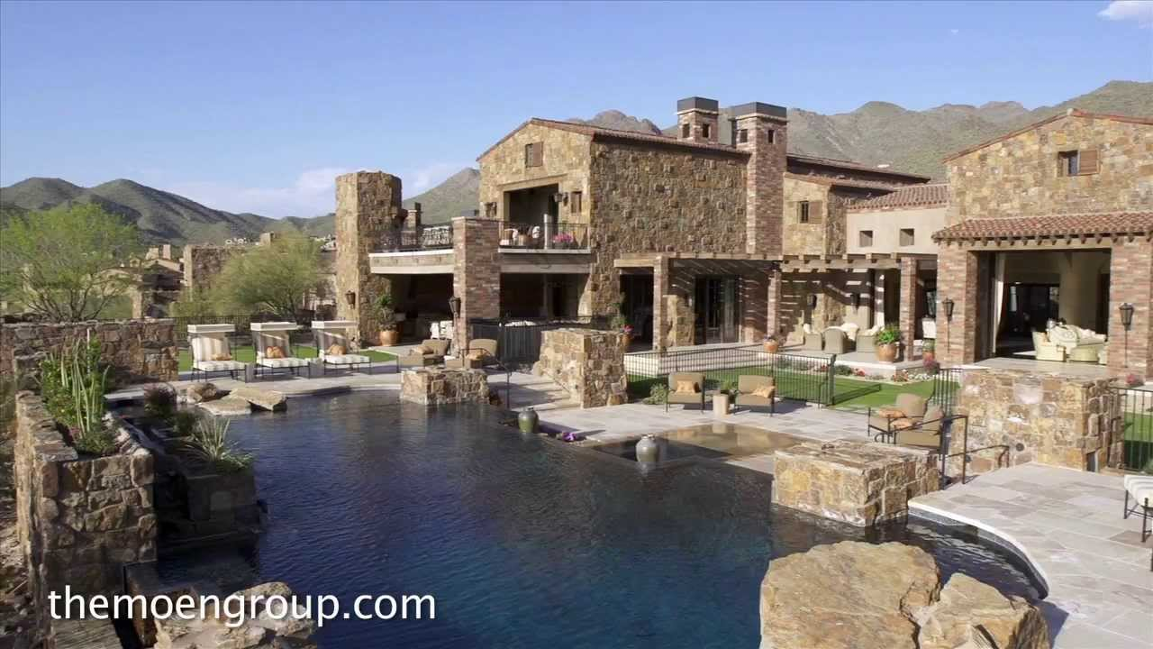 3d Brick Wallpaper South Africa 24 5 Million House Luxury Homes For Sale Scottsdale Az
