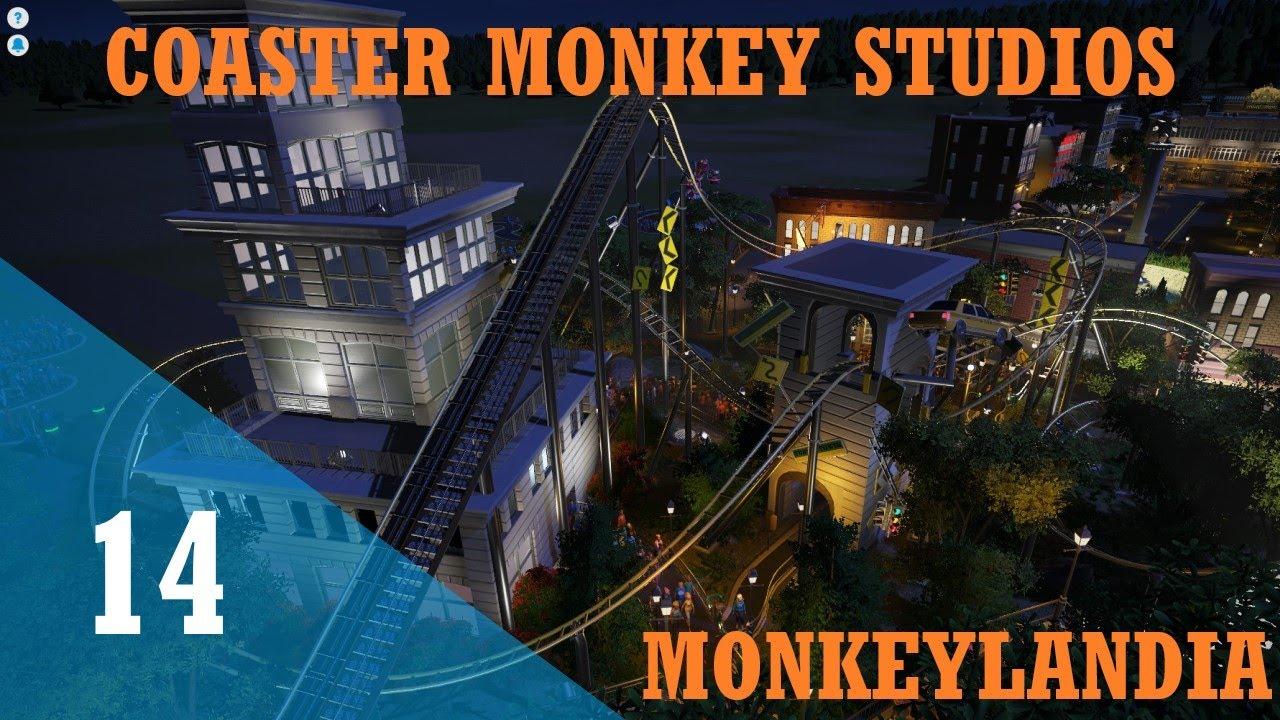 Download Lets Play Planet Coaster | Monkeylandia | Episode 14 | Crazy Buildings | Part 3