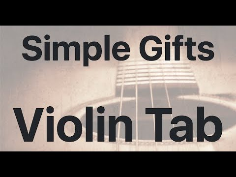 Learn Simple Gifts on Violin - How to Play Tutorial