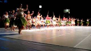 BYUH Culture Night - Tongan Club 2009 (Tau'olunga)