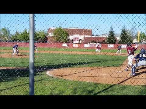 Austin Loeb Home Run vs Nevada Union High School March 2015
