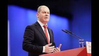 Olaf Scholz: Vorstellungsrede als stellvertretender Parteivorsitzender