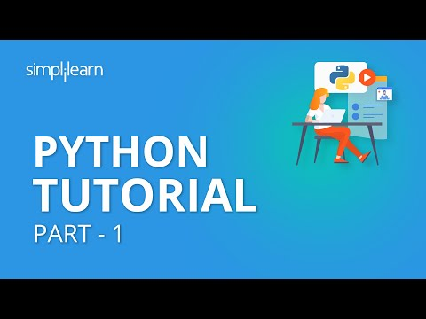 Python Tutorial Part - 1 | Python Tutorial For Beginners Part - 1 | Python Programming | Simplilearn thumbnail