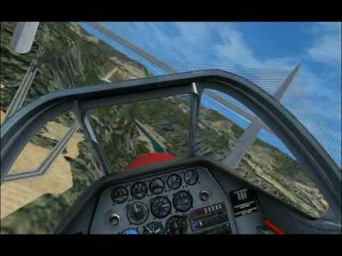 FSX Visite des Sites de France - Pilotage et Vidéo de BOUBA-57