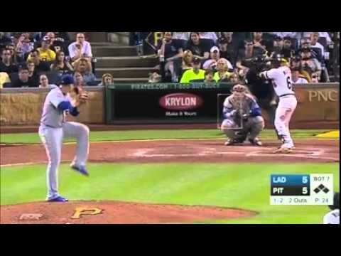 Pittsburgh Pirates Score 9 runs in the 7th inning to beat the Dodgers
