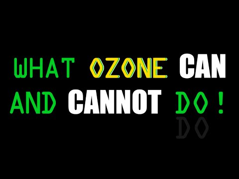 What Ozone Can and Cannot Do
