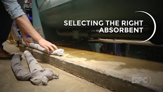 Brady SPC: Selecting the Right Absorbent