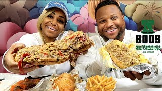 Boo's Philly Cheesesteaks Mukbang