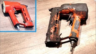Restoration of old Nail gun - Restoriation of Air Nailer ( P...