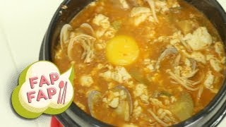How to Cook Soondubu Jjigae