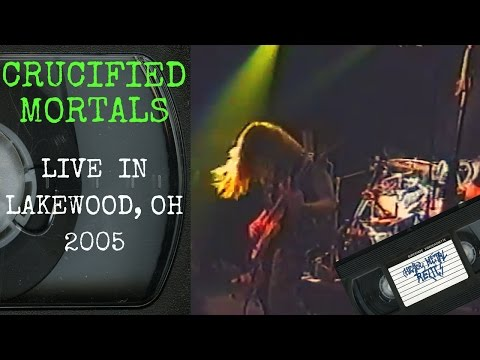 Crucified Mortals Live in Lakewood OH November 19 2005 FULL CONCERT