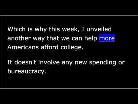 president-obama---weekly-address---march-14th,-2015---a-student-aid-bill-of-rights