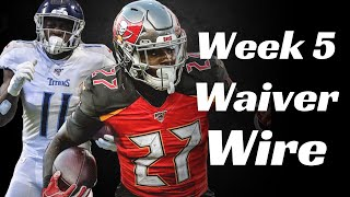 Fantasy Football 2019 Week 5 Waiver Wire