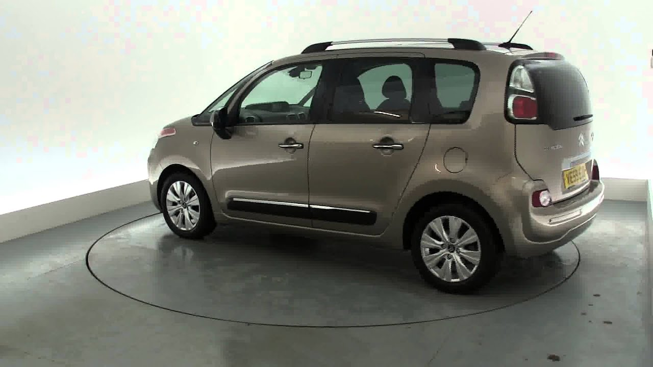 2010 citroen c3 picasso exclusive hdi youtube. Black Bedroom Furniture Sets. Home Design Ideas
