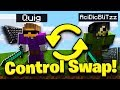 WE SWAPPED MICE AND CONTROLS   YouTuber Control Swap