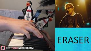 Ed Sheeran - Eraser (Piano Cover by Amosdoll)