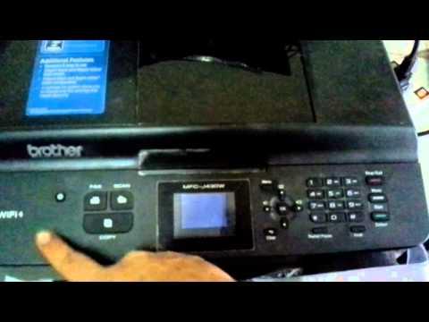 Brother mfc-j430w ปุ่มเพาเวอร์ไม่ทำงาน