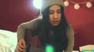 Hotgirl Thái Lan Cover Sau tất cả cực chất | Phiên bản Guitar