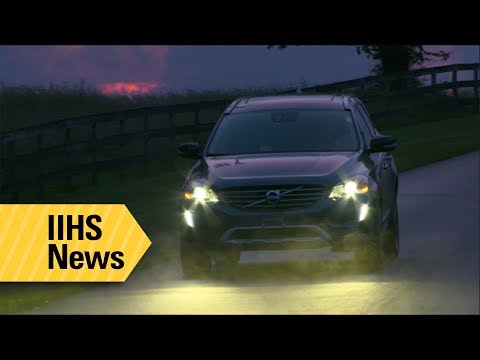 More Than Half Of Midsize SUV Headlights Tested Rate Marginal Or Poor - IIHS News