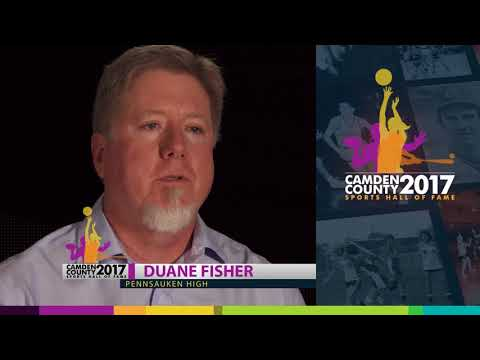 Duane Fisher - 2017 Camden County Sports Hall of Fame
