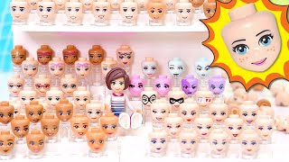 How I display/store my Lego head collection so that heads don't roll