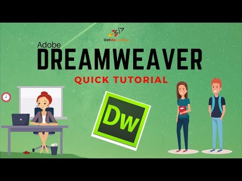 A Dreamweaver Quick Tutorial