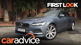 2017 Volvo S90 - First look review | CarAdvice