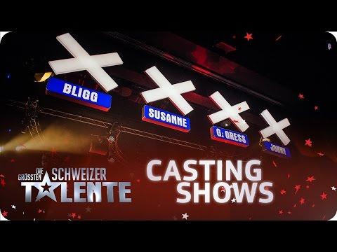 Die grössten Schweizer Talente - 3. Castingshow - #srfdgst