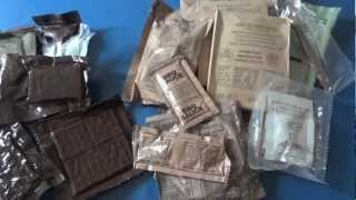 Comparing Beef Patty MREs from 1986 and 2007 Part 2